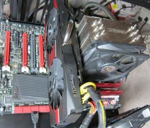 ASUS GTX 780 DirectCU II OC Installed