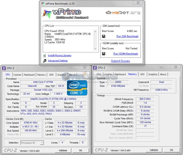 wPrime at 4.8 GHz