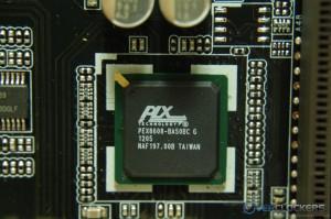 PLX PEX8608 IC