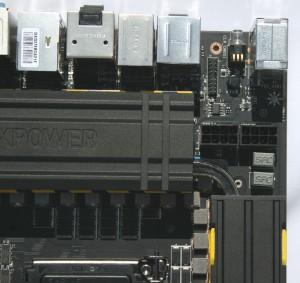 Dual 8 pin EPS power