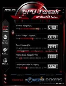 GPU Tweak Additional Settings
