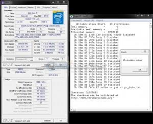 SuperPi 1M @ DDR3-3000, 12-14-14-36, 1.70V