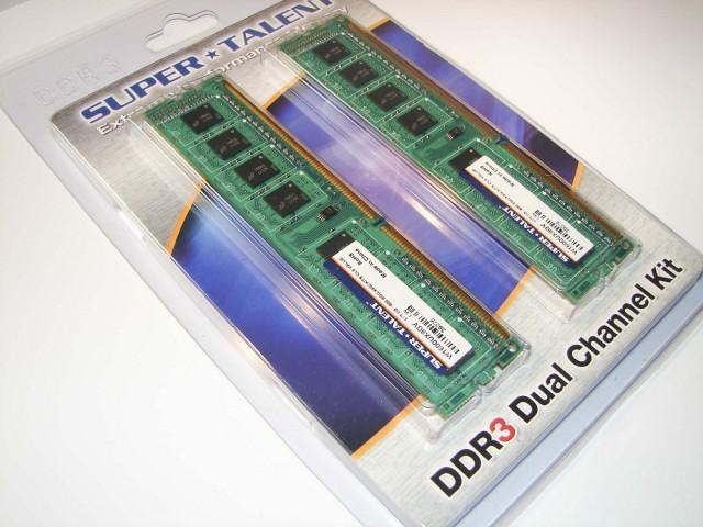 Super Talent DDR3-1600 9-9-9-24 - box