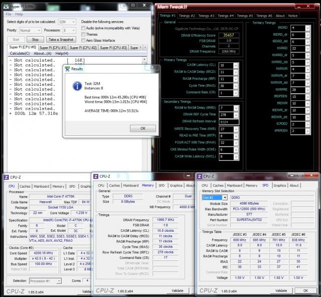 Super Talent DDR3-1600 9-9-9-24 - Maximum Stable OC
