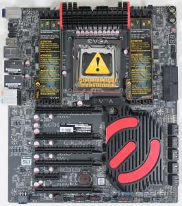 EVGA X79 Dark With Stickers