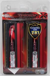 TridentX DDR3-1600 Box