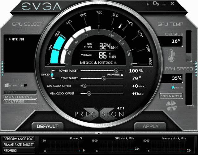 EVGA's Precision X