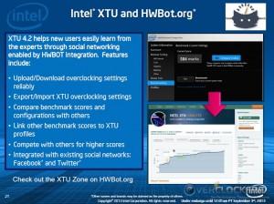 XTU and HWBot