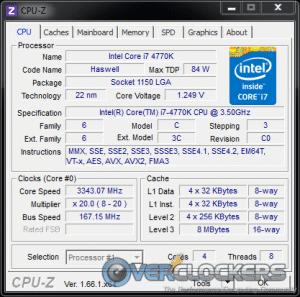 167 MHz BCLK