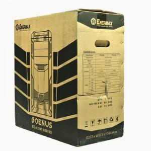 Enermax Coenus carton, front oblique view