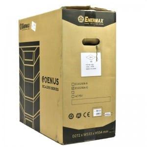 Enermax Coenus carton, rear oblique view