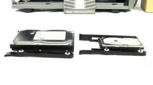 Enermax Coenus hard drive rails