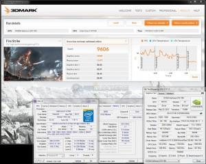 3DMark Fire Strike, 24/7 Overclock