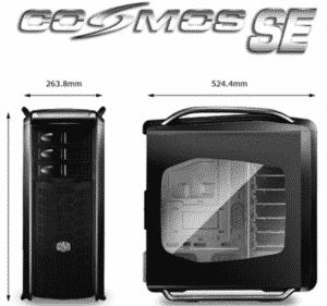 Cosmos SE Dimensions