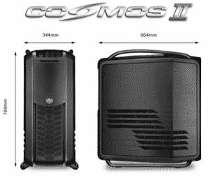 Cosmos II Dimensions