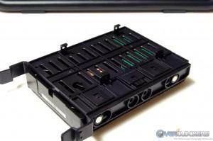 "2.5"" HDD Brackets on Tray Bottom"