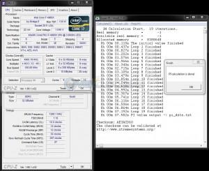 SuperPi 1M @ 4.9 GHz