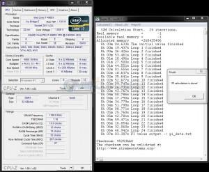 SuperPi 32M @ 4.9 GHz