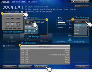 EZ Mode in UEFI BIOS