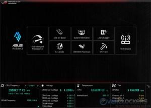 AI Suite III Main Menu