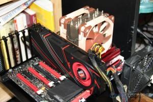 AMD R9 290 Installed