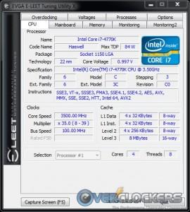 CPU Tab