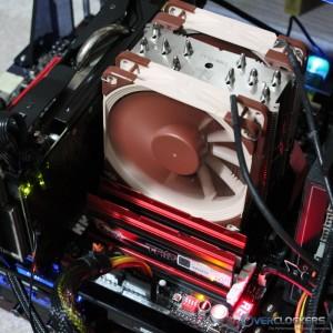 TridentX DDR3-1600 CL7 Installed