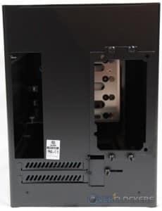 Lian Li PC-Q28 Rear