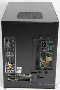 Case Rear, System Installed