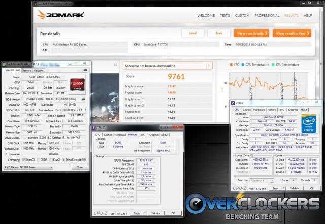 3DMark Firestrike - 9,761
