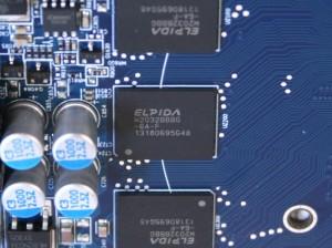 Elpida Memory IC - Q2032BBBG-6A-F