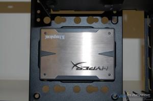 SSD Installed on Side Bracket