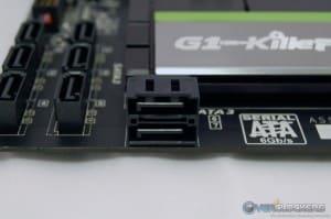 Horizontal SATA 6 GB/s Ports