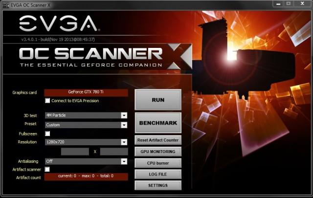 EVGA OC Scanner Software
