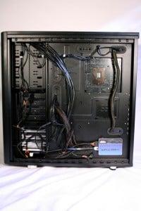 Backside post install