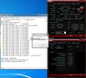 SuperPI 1M @ 4.83 GHZ/167 BCLK