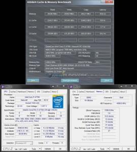 AIDA64 Cache & Memory @ 4.6 GHz