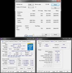 7-Zip Benchmark @ 4.6 GHz
