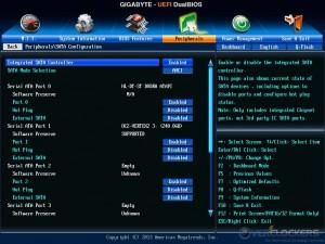 SATA Configuration