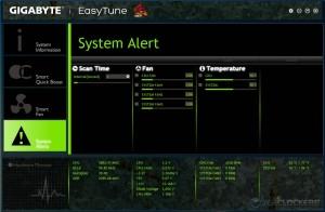 EasyTune System Alert