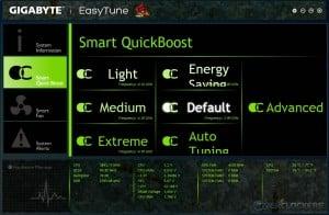 EasyTune Smart QuickBoost