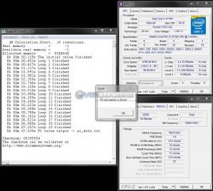 SuperPi 1M @ 4.8 GHz