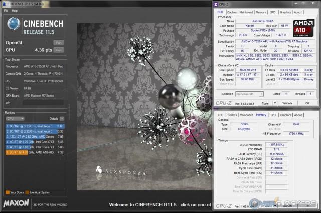Cinebench R11.5 at 4.7 GHz