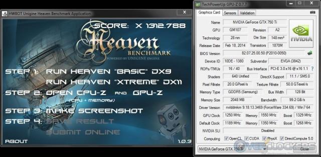1250 MHz GPU/1550 MHz Memory Stable