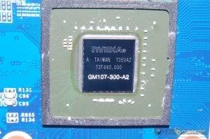 NVIDIA GM107 GPU Core