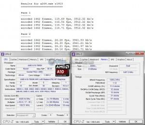x264 Benchmark @ 4.0 GHz