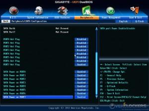 SATA Configuration Sub Menu