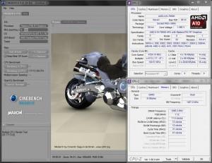 Cinebench R10 @ 4.7 GHz