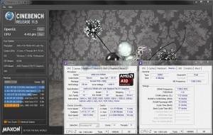 Cinebench R11.5 @ 4.7 GHz