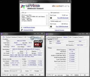 wPrime 32M/1024M @ 4.7 GHz